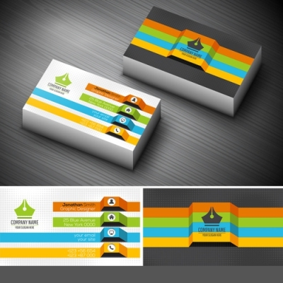 18.5pt Gloss Laminated Business Cards 1 Side
