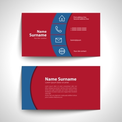 18.5pt Matte Laminated Business Cards 1 Side