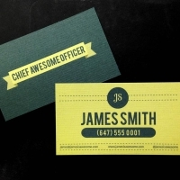 26pt Ultra Thick Laid Business Cards