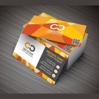 18.5pt Gloss Laminated Business Cards 2 Side