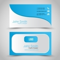 18.5pt Matte Laminated Business Cards 2 Side