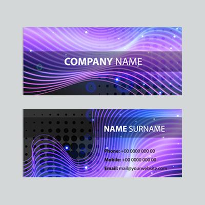 24Hr Slim Business Cards 1 Side
