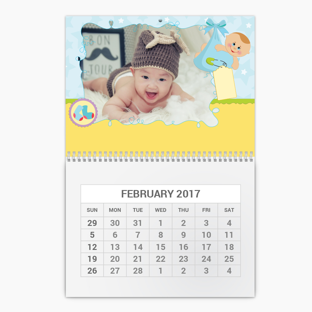 Wall Calendars Small - Double Page
