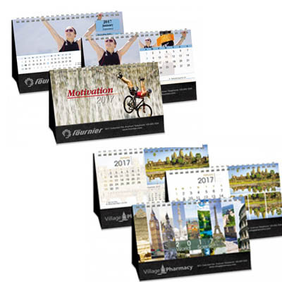 Double view calendar- Black