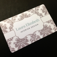 14pt Opaque Plastic Business Cards