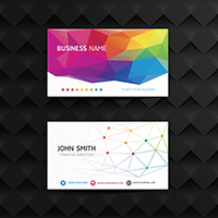 26pt Gloss Laminated Business Cards 1 Side