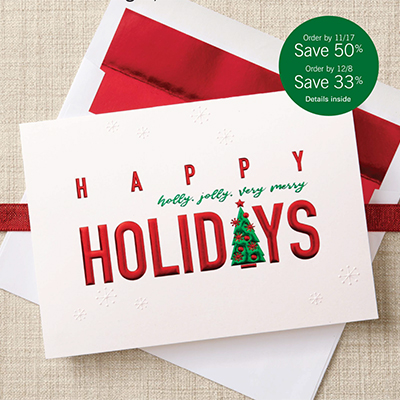 Stock Holiday Greeting Cards
