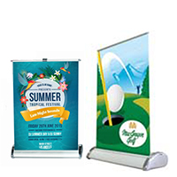 Mini Table Top Roll up Banners