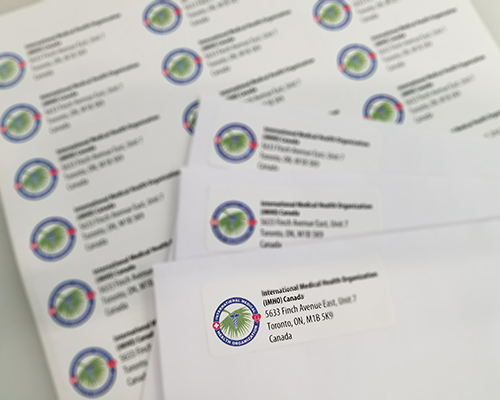 1 Hr Return Address Labels