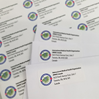 24 Hr Address Labels