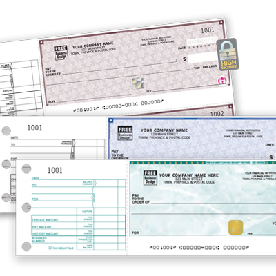 High Security Manual Cheque