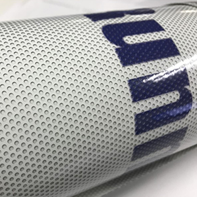 Custom Size Perforated Vinyl