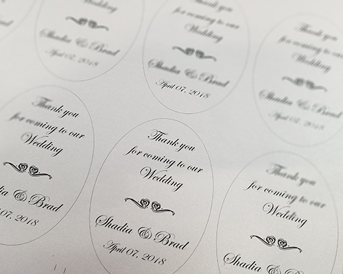1 Hr Oval Labels