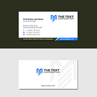 Slim Business Cards 2 Side
