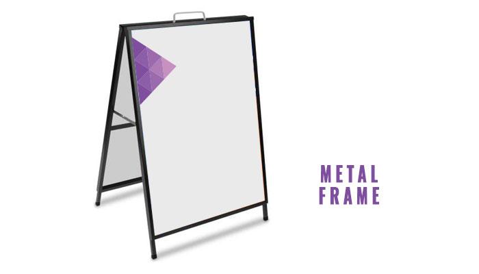 H Metal Frame